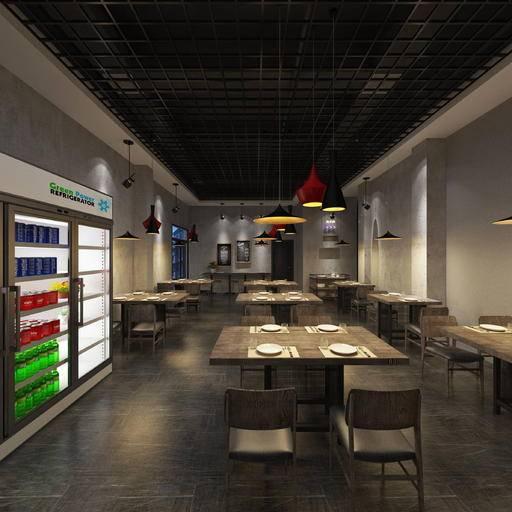 工业式风格 餐厅