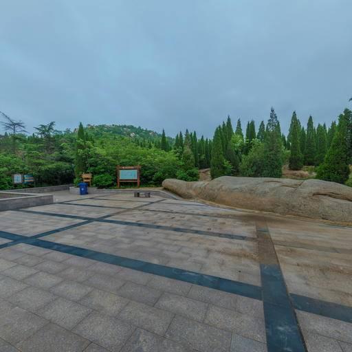 护驾山公园地拍 全景云 全景vr图片 虚拟现实 vr 360°